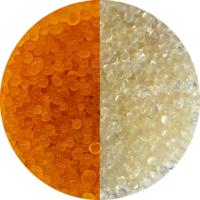 Silicagel Orange-Farblos